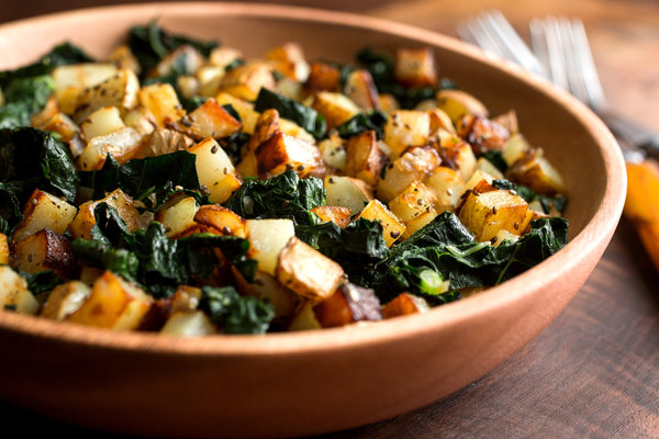 Sautéed Potatoes With Black Kale And Nigella Recipe - Nyt Cooking