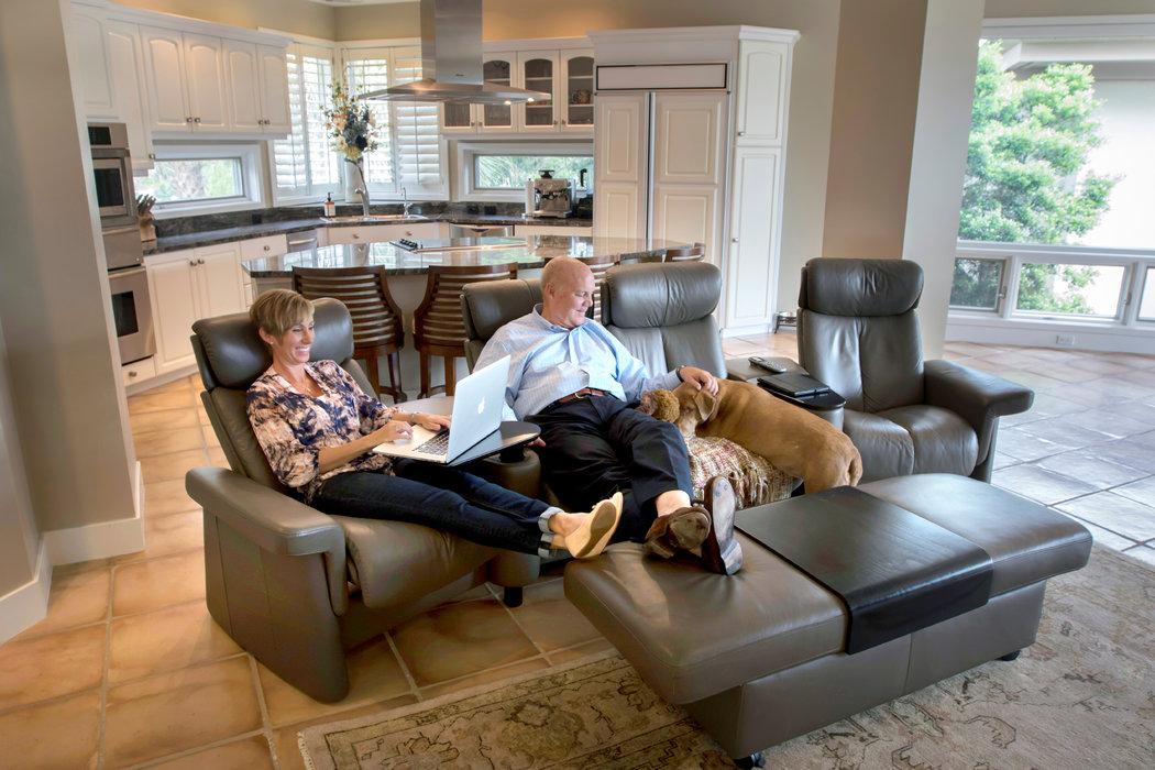 The Ergonomic Sofa - The New York Times - living room furniture nyc