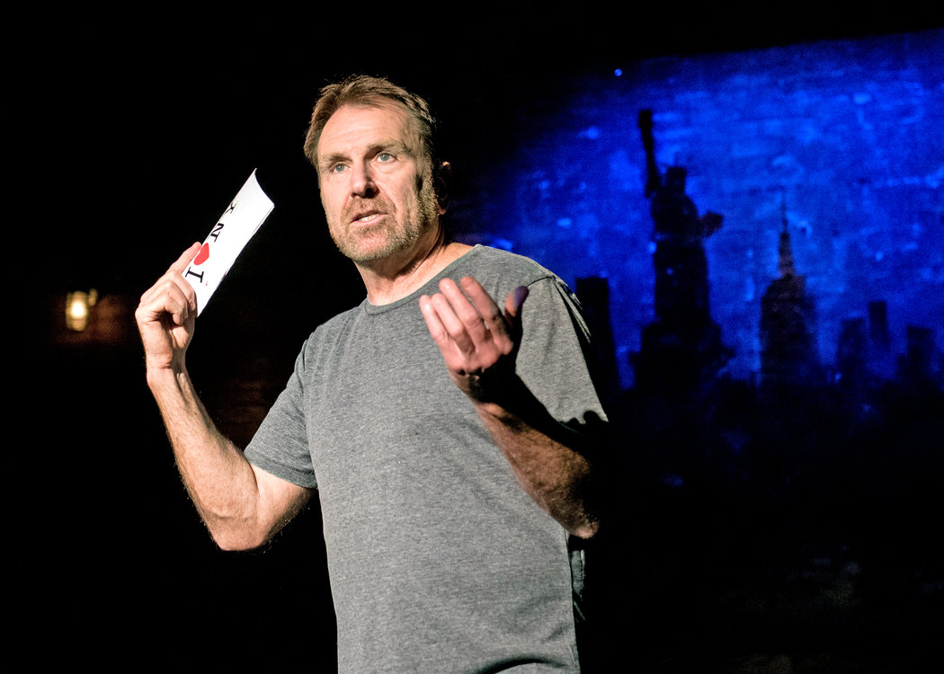 all the characters are gone from new york colin quinn complains in his new show credit ian douglas for the new york times