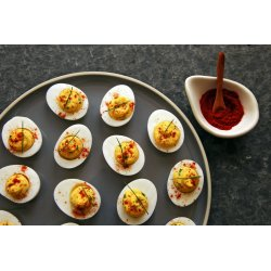 Small Crop Of Spicy Deviled Eggs