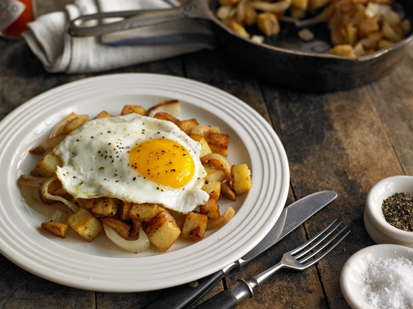 Potato Hash With A Fried Egg Recipe - Nyt Cooking