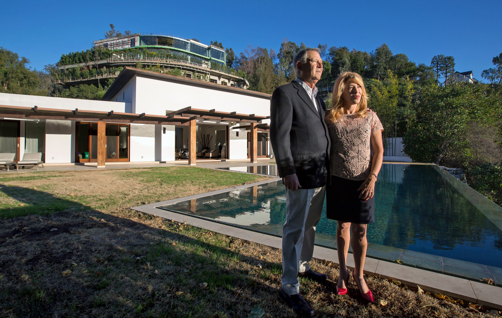 Douglas Huizen A Mansion, A Shell Company And Resentment In Bel Air - The