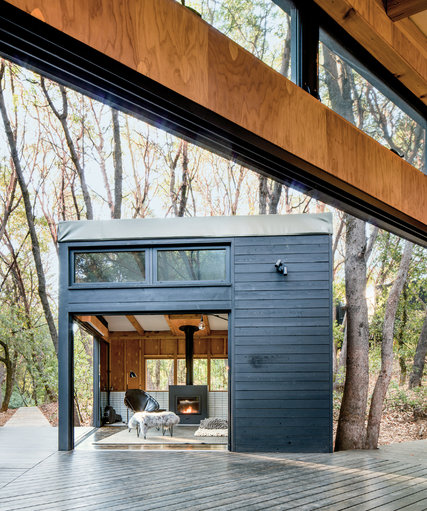 A Constellation of One-Room Cabins, Embedded in the Forest - The - room rental contract