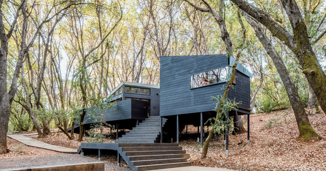A Constellation of One-Room Cabins, Embedded in the Forest - The - house sale contract