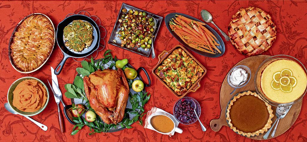 A Classic Thanksgiving Dinner Menu - The New York Times