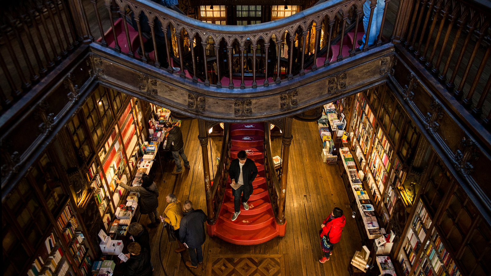 Librería Lello E Irmao Room For Books And Magic