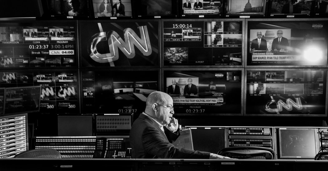 CNN Had a Problem Donald Trump Solved It - The New York Times