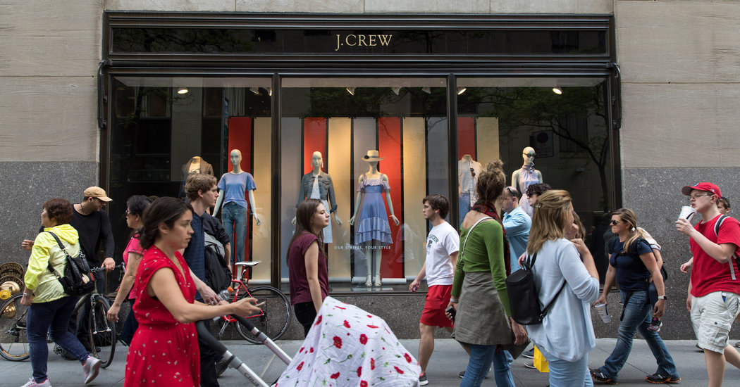 What Happened to J Crew? - The New York Times