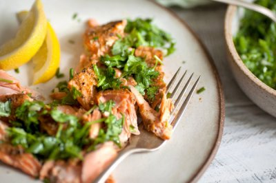 Cumin-Roasted Salmon With Cilantro Sauce Recipe - NYT Cooking