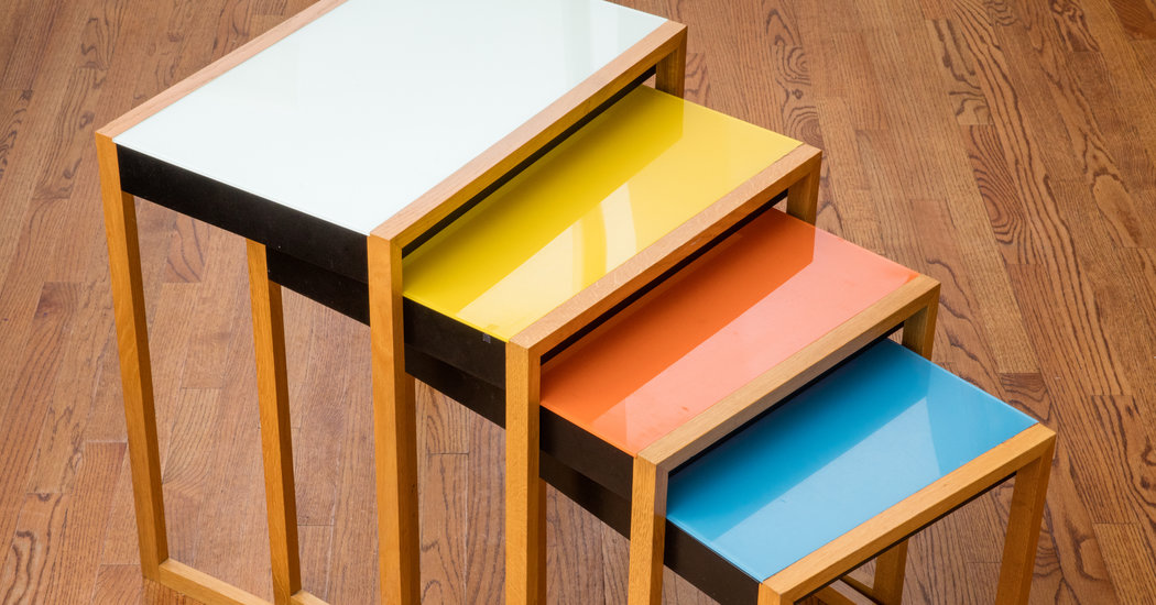 In Praise of Nesting Tables - The New York Times