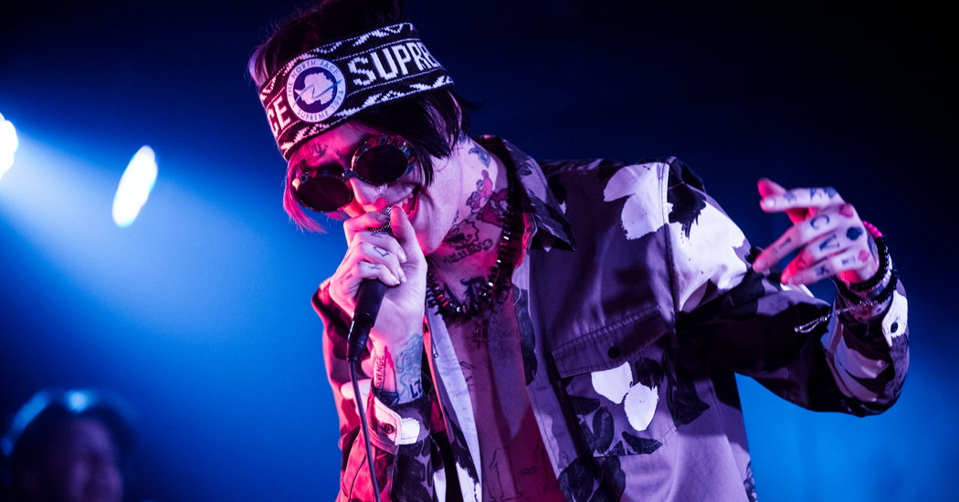 Girl Wallpaper Face Tattoo Lil Peep Rapper Who Blended Hip Hop And Emo Is Dead At