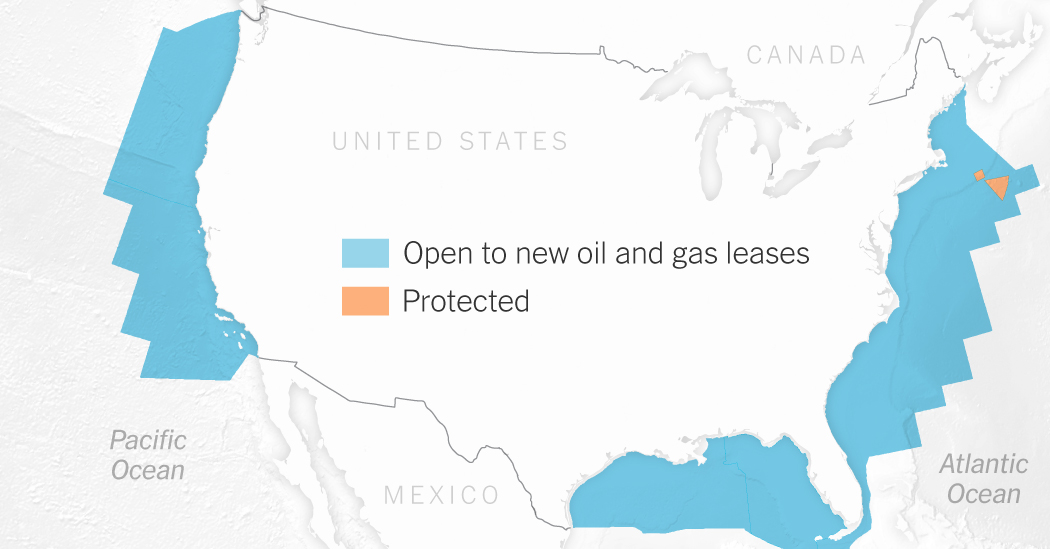 Trump Would Open Nearly All US Waters to Drilling But Will They