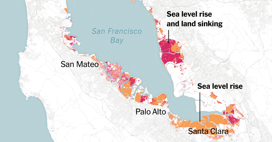 More of the Bay Area Could Be Underwater in 2100 Than Previously