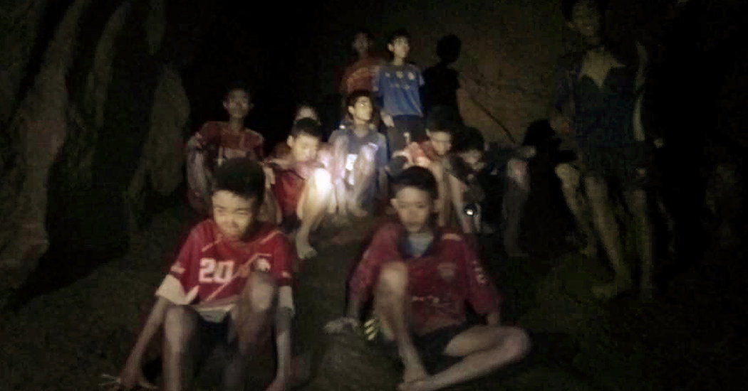 Soccer Team Is Found Alive in Thailand Cave Rescue - The New York Times
