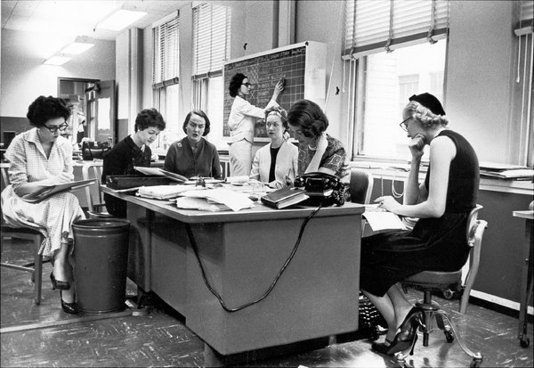 When The Times Kept Female Reporters Upstairs - The New York Times