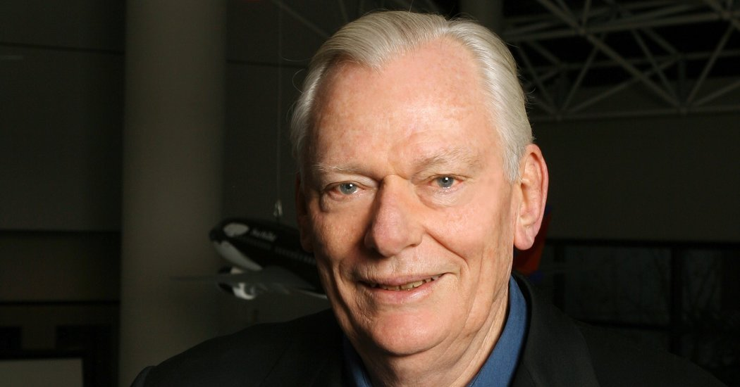 Travel Fares Herb Kelleher, Whose Southwest Airlines Reshaped The