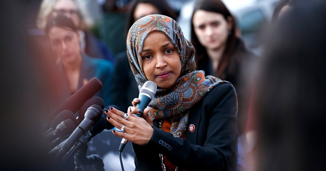 rep ilhan omar anti semitic tweets