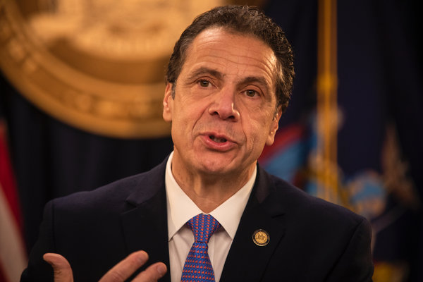 Cuomo's Approval Rating Drops to Lowest Level in 8 Years as Governor - The New York Times