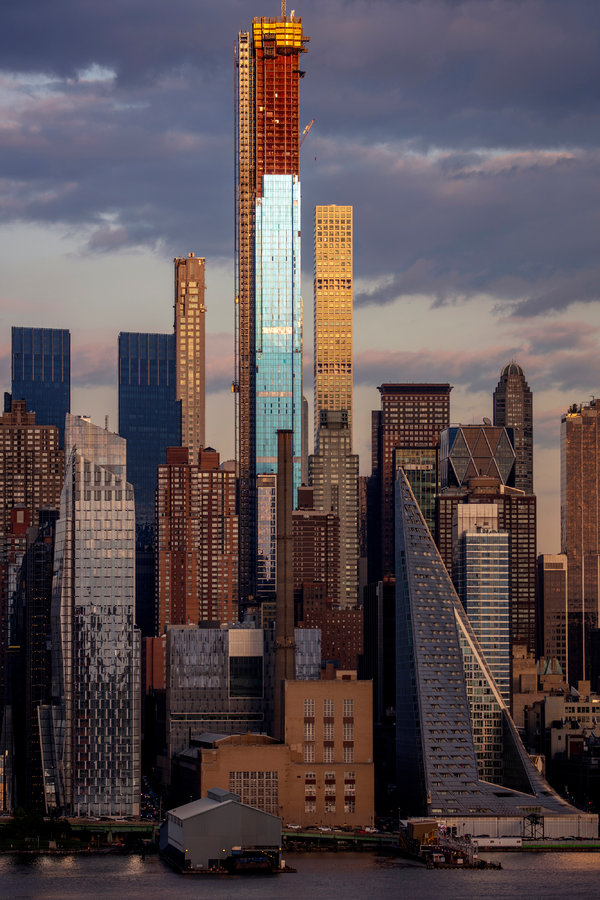 How A Luxury Boom Is Changing New York S Skyline The New York Times - Vorhang New York Skyline