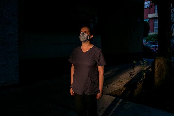 Berenice Andrade, doctora del hospital Dr. Carlos Mac Gregor.