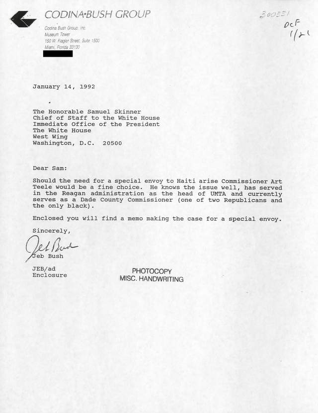 Requests and Recommendations Jeb Bush\u0027s Letters - The New York Times - Sample Recommendation Request Letter