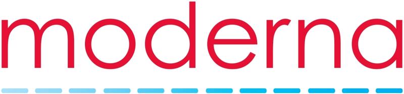 Logotipo de Moderna