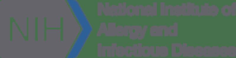 Logotipo del Instituto Nacional de Alergias y Enfermedades Infecciosas