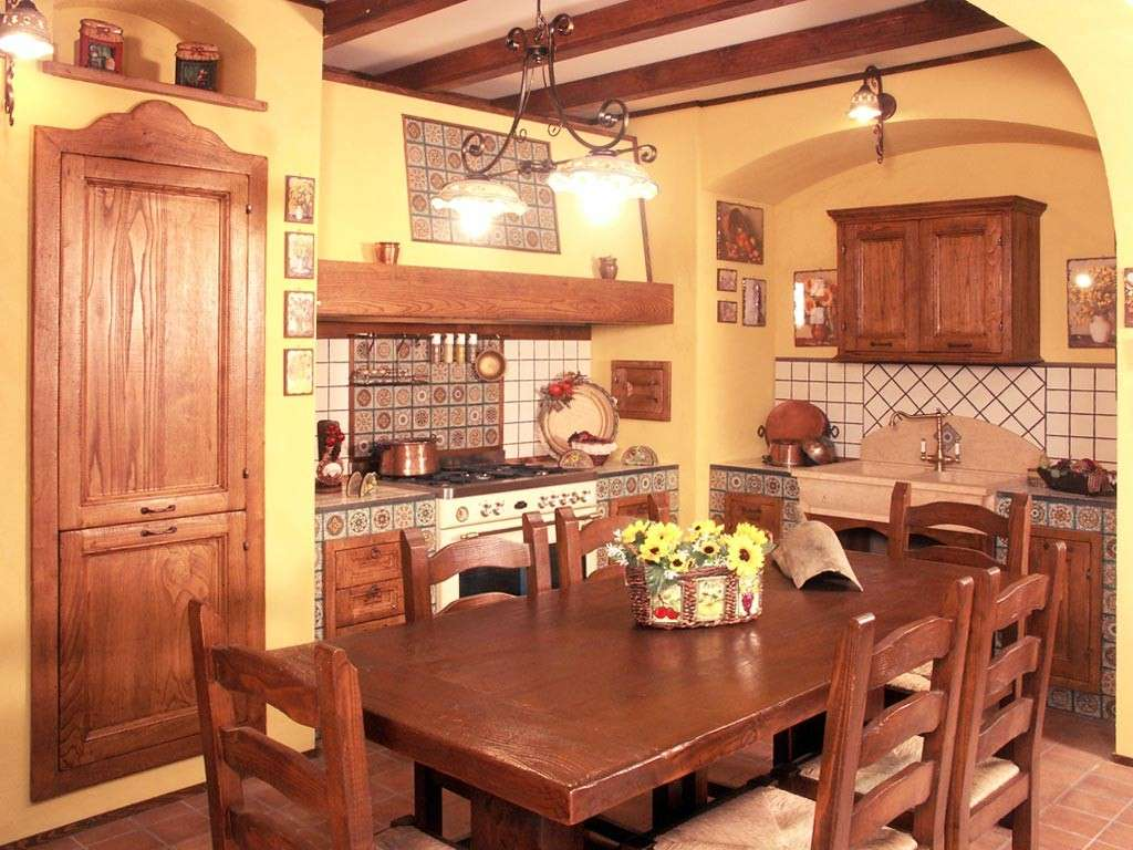 Cucina Americana Rustica Cucine Rustiche Con Isola Centrale Excellent New Posts With