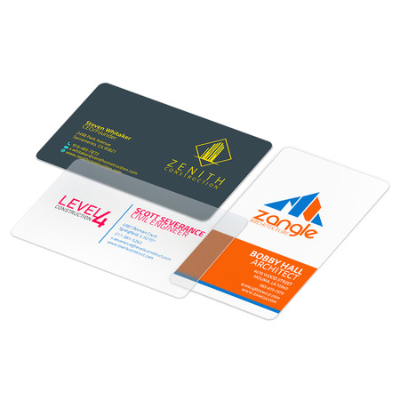 Plastic Business Cards - Print Waterproof and Clear Business Cards