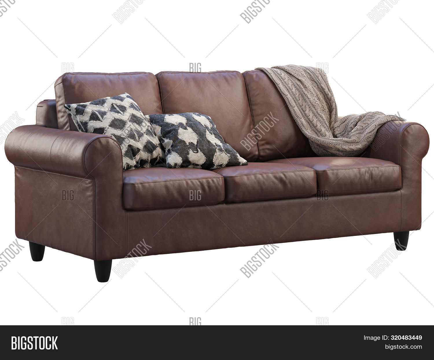 Modern Brown Leather Image Photo Free Trial Bigstock