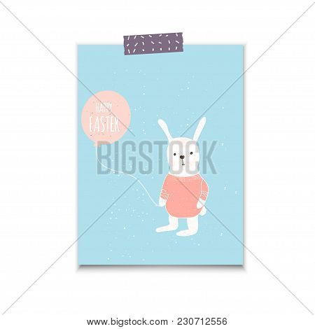 Easter Banner Background, Template Vector  Photo Bigstock