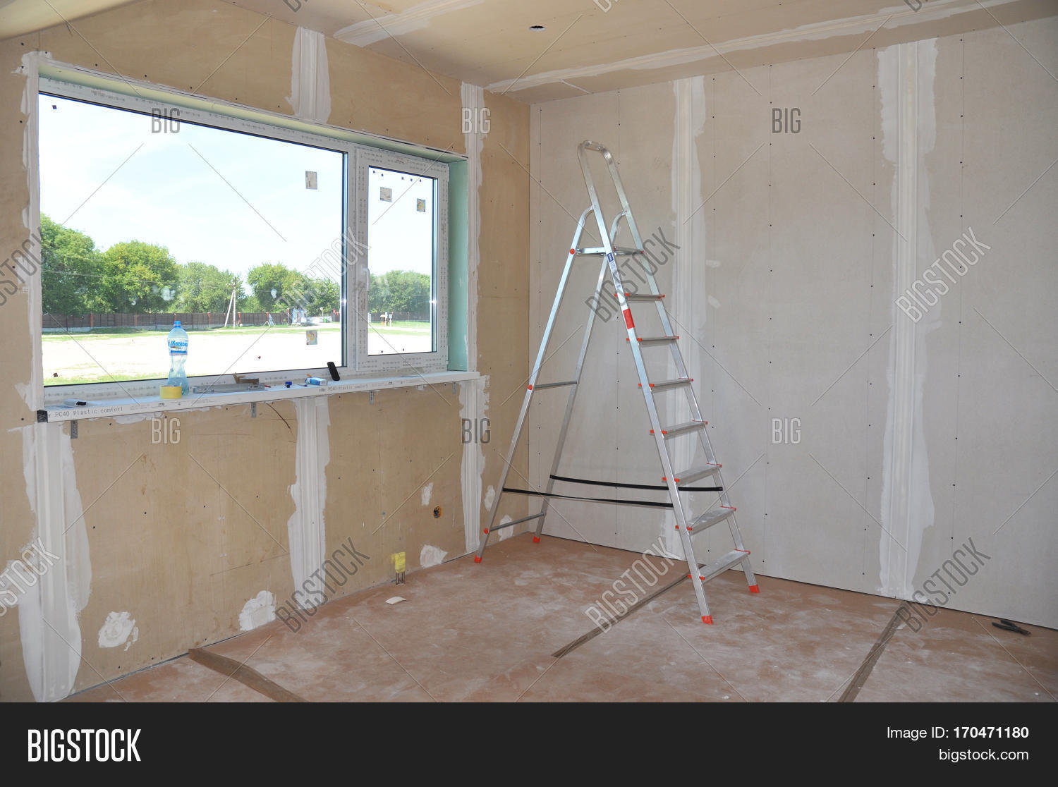 Plaster Building Construction Building Image Photo Free Trial Bigstock