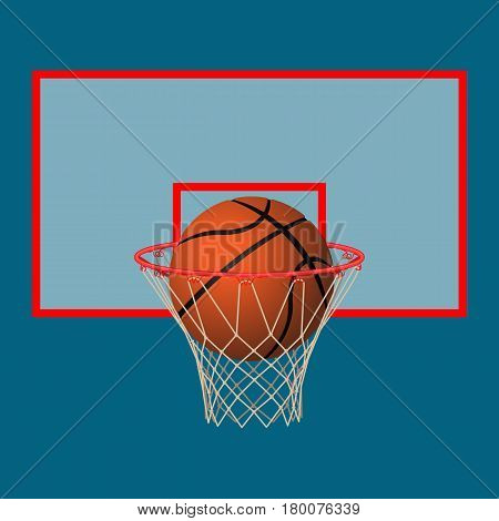Ball Basketball Hoop Vector  Photo (Free Trial) Bigstock