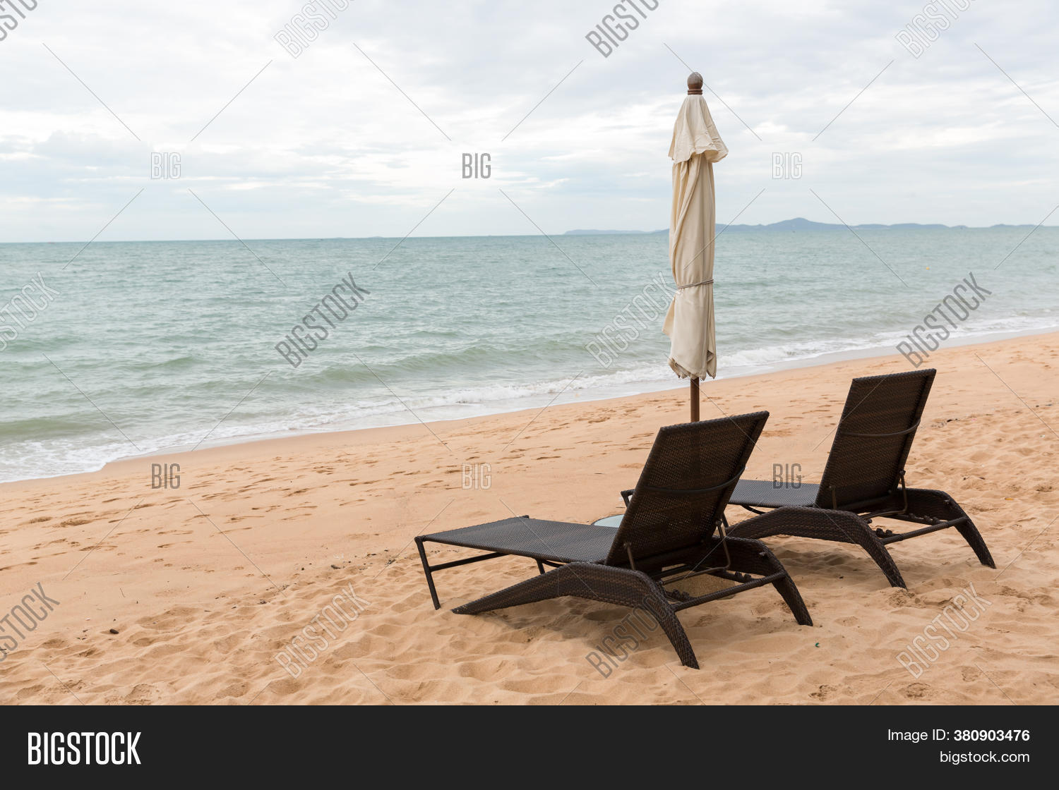 Beach Chair Big Image Photo Free Trial Bigstock