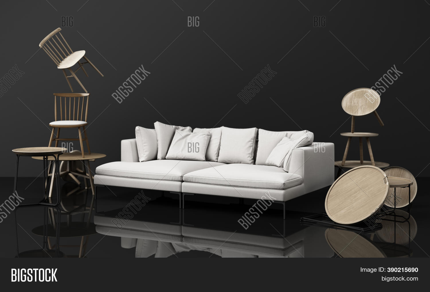 Chairs Coffee Table Image Photo Free Trial Bigstock