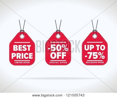Sale Tag Vector Vector  Photo (Free Trial) Bigstock - sale tag template