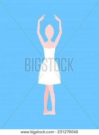 Cartoon Basic Ballet Classical Vector  Photo Bigstock - basic blue background
