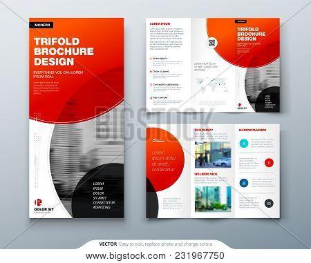 Tri Fold Brochure Vector  Photo (Free Trial) Bigstock