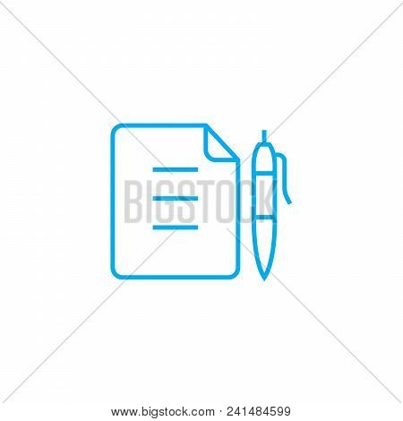 Memo Line Icon, Vector  Photo (Free Trial) Bigstock - how to sign a memo