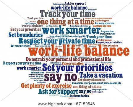 Work Life Balance Tips Image  Photo (Free Trial) Bigstock - work tips