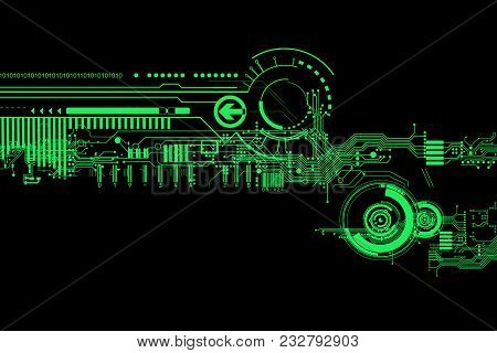 Abstract Futuristic Image  Photo (Free Trial) Bigstock - circuit design background
