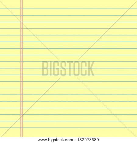 School Notebook Paper Vector  Photo (Free Trial) Bigstock - line paper background