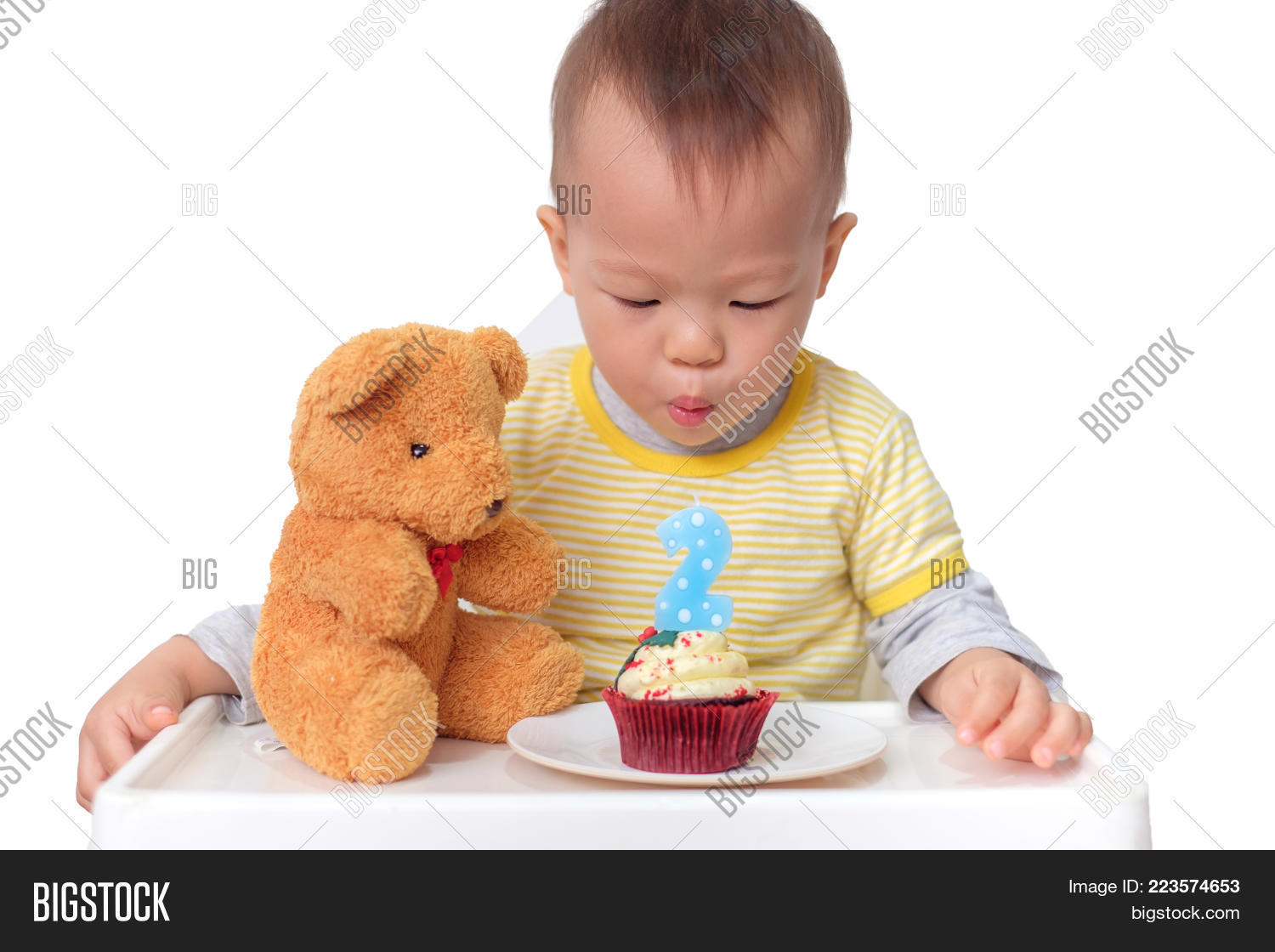 Toddler 2 Years Old Birthday Cute Little Asian 2 Image Photo Free Trial Bigstock