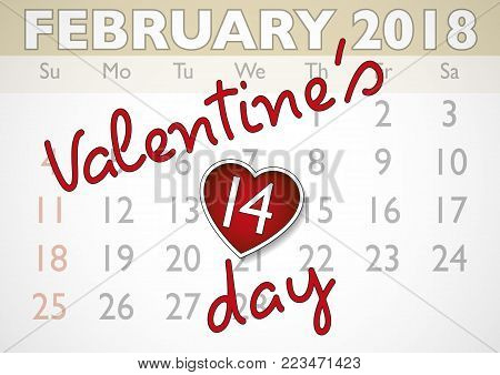 Valentines Day Vector  Photo (Free Trial) Bigstock