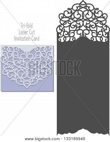 Laser Cut Invitation Vector  Photo (Free Trial) Bigstock