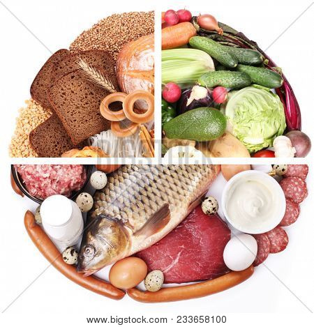 Food Pyramid Diet Image  Photo (Free Trial) Bigstock