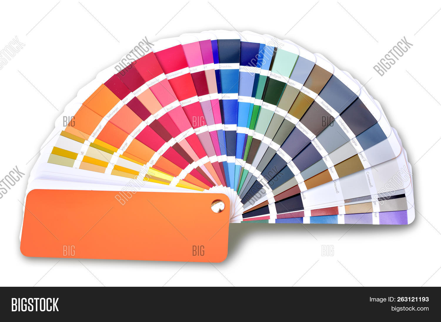 Ral Cmyk Ral Color Fan Cmyk Image Photo Free Trial Bigstock