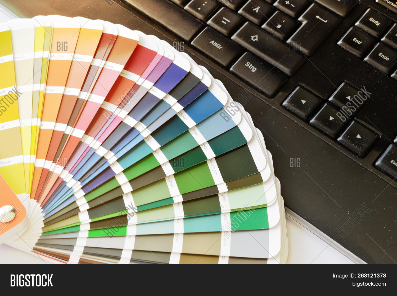 Ral Cmyk Ral Color Fan Cmyk On Image Photo Free Trial Bigstock