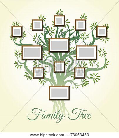 Family Tree Photo Vector  Photo (Free Trial) Bigstock