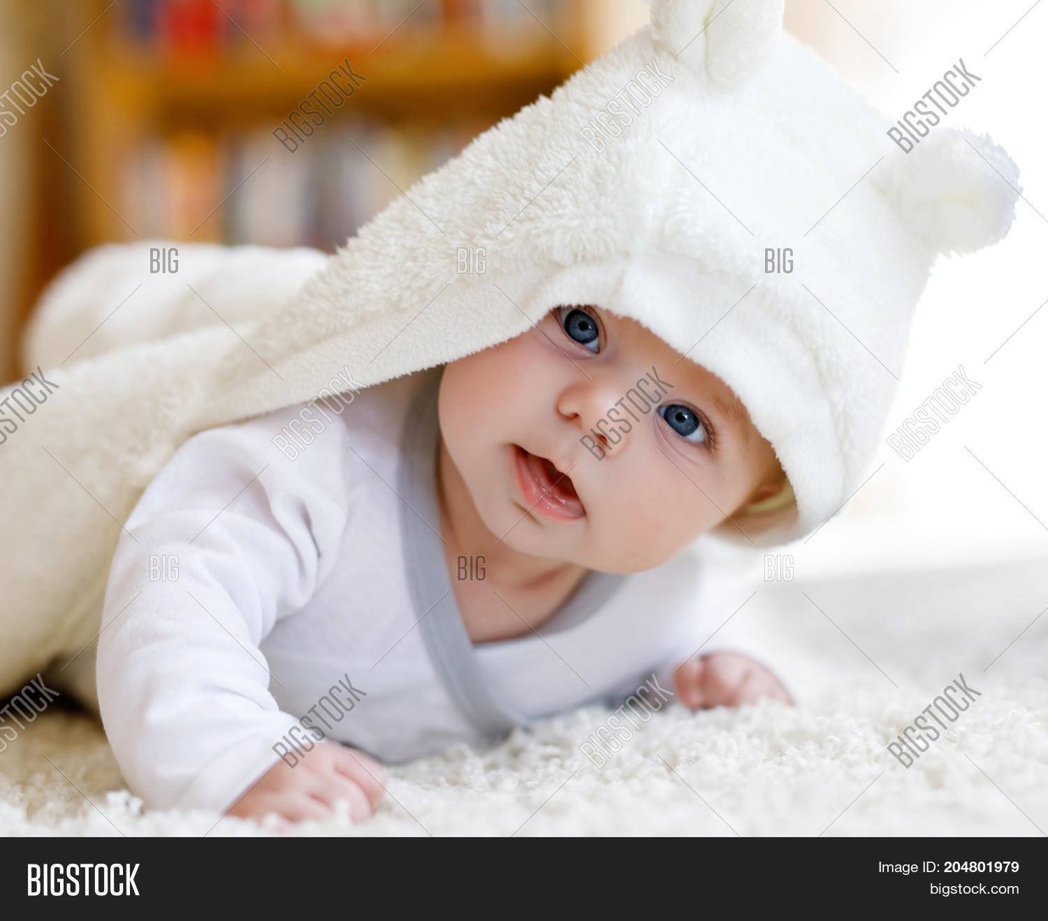 Newborn Babies With Blue Eyes Baby Girl Blue Eyes Image Photo Free Trial Bigstock